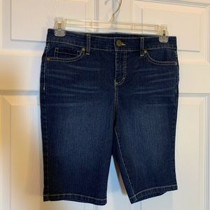 Bandolino (Mandie) Denim Shorts Size 8 P